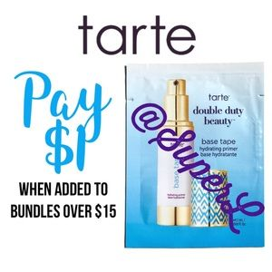 $1 Tarte Base Tape Hydrating Primer Makeup Face